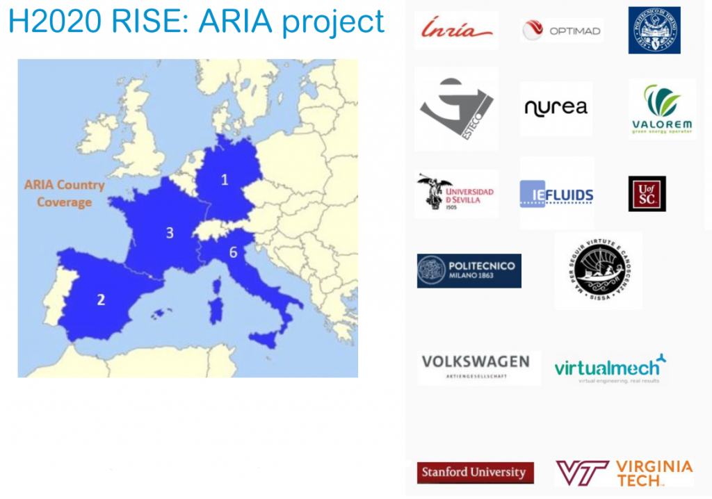H2020 RISE Aria project
